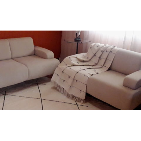 Manta para Sofa home sweet home
