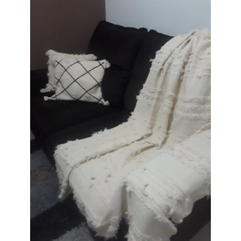 Manta para sofá Santa Arte Mineira