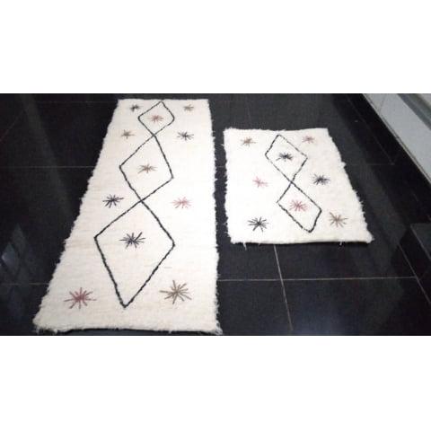 TAPETE PASSADEIRA SWEET HOME - Arte Mineira Artesanatos em tear manual